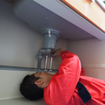 キッチンの排水の詰まり処理